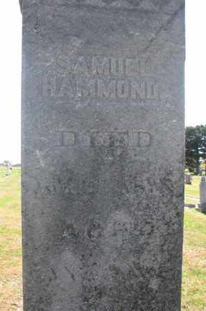 HAMMOND, SAMUEL (CLOSEUP) - Union County, South Dakota | SAMUEL (CLOSEUP) HAMMOND - South Dakota Gravestone Photos