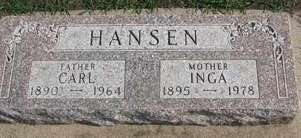 HANSEN, CARL - Union County, South Dakota | CARL HANSEN - South Dakota Gravestone Photos