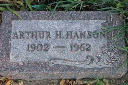HANSON, ARTHUR H. - Union County, South Dakota | ARTHUR H. HANSON - South Dakota Gravestone Photos