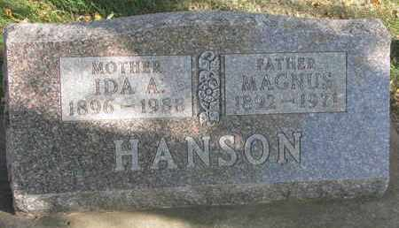 HANSON, MAGNUS - Union County, South Dakota | MAGNUS HANSON - South Dakota Gravestone Photos