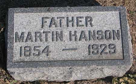 HANSON, MARTIN - Union County, South Dakota | MARTIN HANSON - South Dakota Gravestone Photos