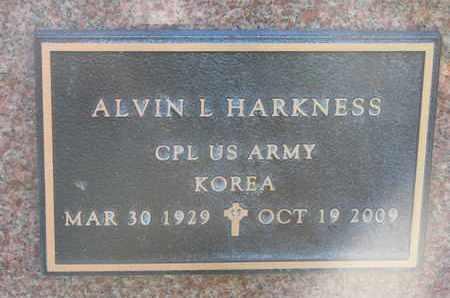 HARKNESS, ALVIN LYMAN (MILITARY) - Union County, South Dakota   ALVIN LYMAN (MILITARY) HARKNESS - South Dakota Gravestone Photos