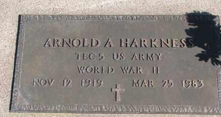 HARKNESS, ARNOLD A. (WORLD WAR II) - Union County, South Dakota   ARNOLD A. (WORLD WAR II) HARKNESS - South Dakota Gravestone Photos