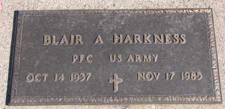HARKNESS, BLAIR A. (MILITARY) - Union County, South Dakota | BLAIR A. (MILITARY) HARKNESS - South Dakota Gravestone Photos