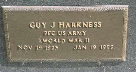 HARKNESS, GUY JR, (WORLD WAR II) - Union County, South Dakota | GUY JR, (WORLD WAR II) HARKNESS - South Dakota Gravestone Photos