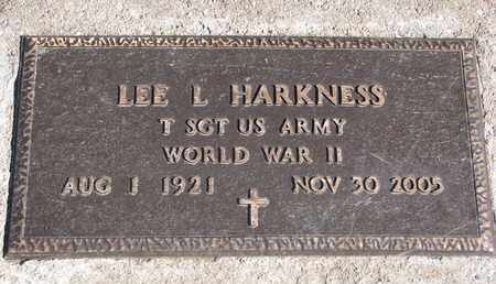 HARKNESS, LEE L. (WORLD WAR II) - Union County, South Dakota | LEE L. (WORLD WAR II) HARKNESS - South Dakota Gravestone Photos
