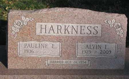 HARKNESS, ALVIN LYMAN - Union County, South Dakota   ALVIN LYMAN HARKNESS - South Dakota Gravestone Photos