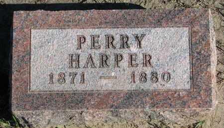 HARPER, PERRY - Union County, South Dakota | PERRY HARPER - South Dakota Gravestone Photos