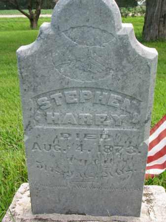 HARRY, STEPHEN - Union County, South Dakota | STEPHEN HARRY - South Dakota Gravestone Photos