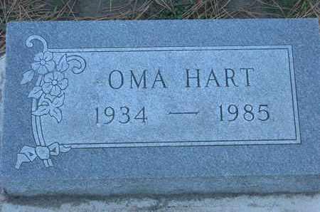 HART, OMA - Union County, South Dakota | OMA HART - South Dakota Gravestone Photos