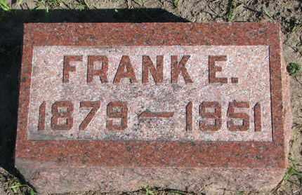 HARTER, FRANK E. - Union County, South Dakota | FRANK E. HARTER - South Dakota Gravestone Photos