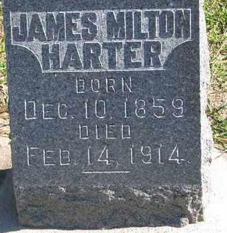 HARTER, JAMES MILTON - Union County, South Dakota | JAMES MILTON HARTER - South Dakota Gravestone Photos