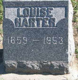 HARTER, LOUISE - Union County, South Dakota | LOUISE HARTER - South Dakota Gravestone Photos