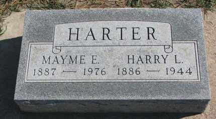 HARTER, MAYME E. - Union County, South Dakota | MAYME E. HARTER - South Dakota Gravestone Photos