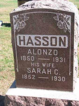 HASSON, ALONZO - Union County, South Dakota | ALONZO HASSON - South Dakota Gravestone Photos