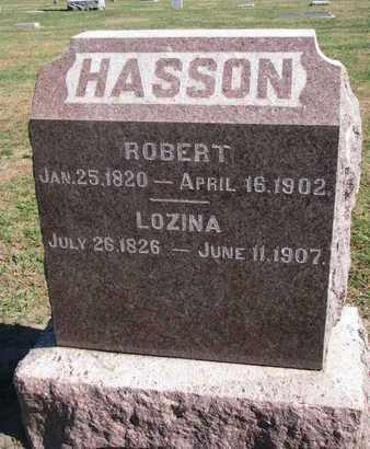 HASSON, LOZINA - Union County, South Dakota   LOZINA HASSON - South Dakota Gravestone Photos