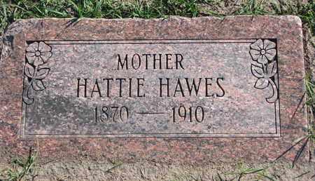 HAWES, HATTIE - Union County, South Dakota | HATTIE HAWES - South Dakota Gravestone Photos