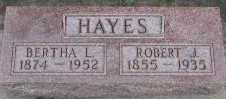 HAYES, BERTHA L. - Union County, South Dakota | BERTHA L. HAYES - South Dakota Gravestone Photos