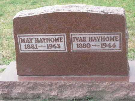 HAYHOME, MAY - Union County, South Dakota   MAY HAYHOME - South Dakota Gravestone Photos