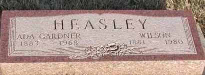 HEASLEY, WILSON - Union County, South Dakota   WILSON HEASLEY - South Dakota Gravestone Photos