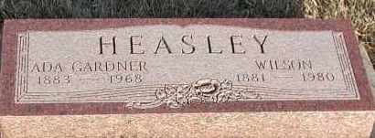 GARDNER HEASLEY, ADA - Union County, South Dakota | ADA GARDNER HEASLEY - South Dakota Gravestone Photos