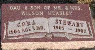 HEASLEY, STEWART - Union County, South Dakota | STEWART HEASLEY - South Dakota Gravestone Photos