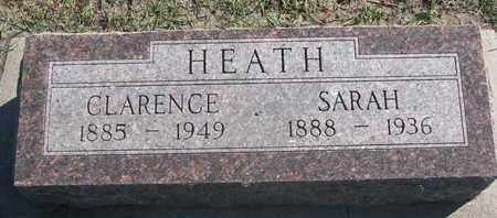 HEATH, CLARENCE - Union County, South Dakota | CLARENCE HEATH - South Dakota Gravestone Photos