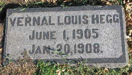 HEGG, VERNAL LOUIS - Union County, South Dakota | VERNAL LOUIS HEGG - South Dakota Gravestone Photos