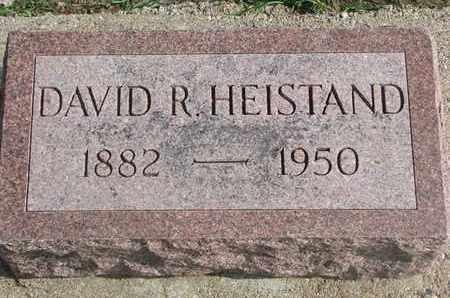 HEISTAND, DAVID R. - Union County, South Dakota | DAVID R. HEISTAND - South Dakota Gravestone Photos