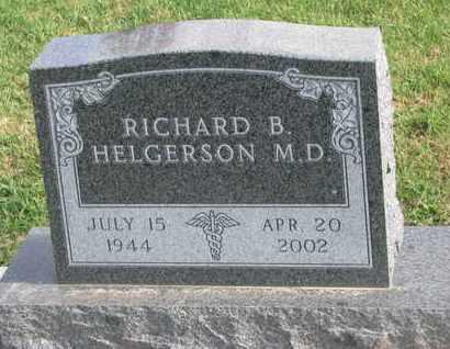 HELGERSON, RICHARD B. (M.D.) - Union County, South Dakota | RICHARD B. (M.D.) HELGERSON - South Dakota Gravestone Photos