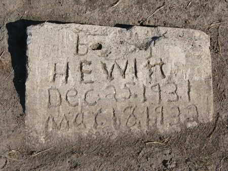 HEWETT, B. - Union County, South Dakota   B. HEWETT - South Dakota Gravestone Photos
