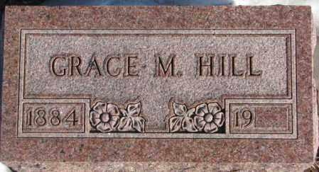 HILL, GRACE M. - Union County, South Dakota | GRACE M. HILL - South Dakota Gravestone Photos