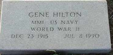 HILTON, GENE - Union County, South Dakota | GENE HILTON - South Dakota Gravestone Photos