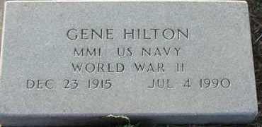 HILTON, GENE - Union County, South Dakota | GENE HILTON - South Dakota Gravestone Photos
