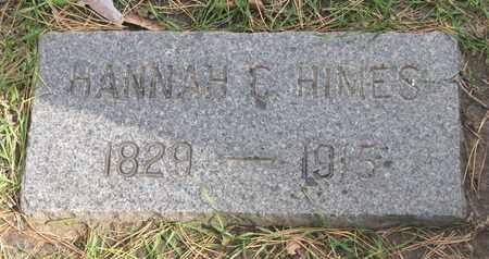 HIMES, HANNAH C. - Union County, South Dakota | HANNAH C. HIMES - South Dakota Gravestone Photos