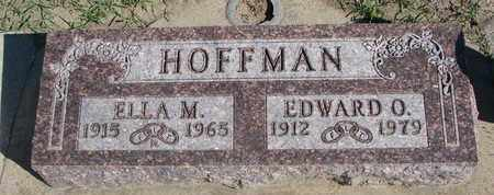 HOFFMAN, EDWARD O. - Union County, South Dakota | EDWARD O. HOFFMAN - South Dakota Gravestone Photos