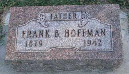 HOFFMAN, FRANK B. - Union County, South Dakota | FRANK B. HOFFMAN - South Dakota Gravestone Photos