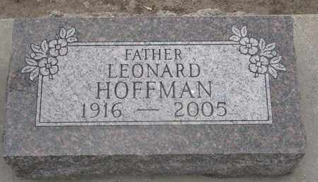 HOFFMAN, LEONARD - Union County, South Dakota | LEONARD HOFFMAN - South Dakota Gravestone Photos