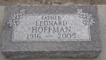 HOFFMAN, LEONARD - Union County, South Dakota   LEONARD HOFFMAN - South Dakota Gravestone Photos