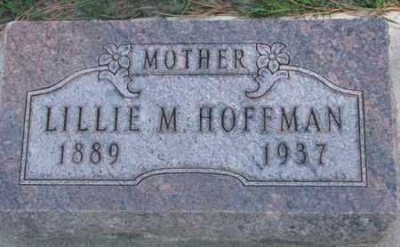 HOFFMAN, LILLIE M. - Union County, South Dakota   LILLIE M. HOFFMAN - South Dakota Gravestone Photos