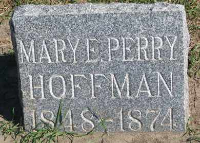 PERRY HOFFMAN, MARY E. - Union County, South Dakota | MARY E. PERRY HOFFMAN - South Dakota Gravestone Photos