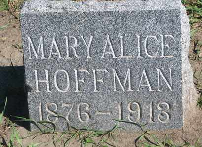HOFFMAN, MARY ALICE - Union County, South Dakota | MARY ALICE HOFFMAN - South Dakota Gravestone Photos