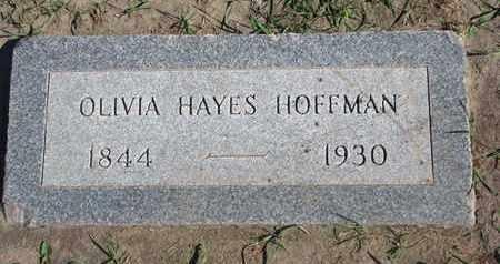 HOFFMAN, OLIVIA - Union County, South Dakota | OLIVIA HOFFMAN - South Dakota Gravestone Photos