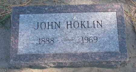 HOKLIN, JOHN - Union County, South Dakota   JOHN HOKLIN - South Dakota Gravestone Photos