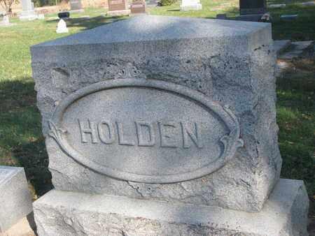 HOLDEN, FAMILY STONE - Union County, South Dakota | FAMILY STONE HOLDEN - South Dakota Gravestone Photos