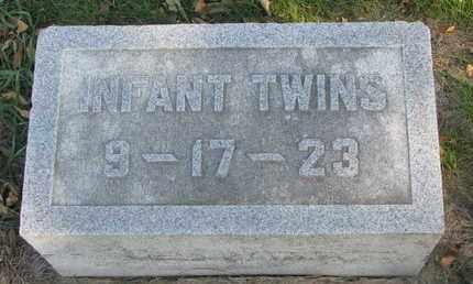 HOLDEN, INFANT TWINS - Union County, South Dakota | INFANT TWINS HOLDEN - South Dakota Gravestone Photos