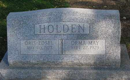 HOLDEN, ORIS EDSEL - Union County, South Dakota | ORIS EDSEL HOLDEN - South Dakota Gravestone Photos