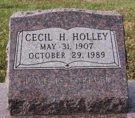 HOLLEY, CECIL H - Union County, South Dakota | CECIL H HOLLEY - South Dakota Gravestone Photos