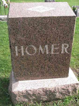 HOMER, FAMILY STONE - Union County, South Dakota   FAMILY STONE HOMER - South Dakota Gravestone Photos