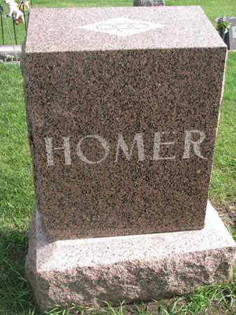 HOMER, FAMILY STONE - Union County, South Dakota | FAMILY STONE HOMER - South Dakota Gravestone Photos